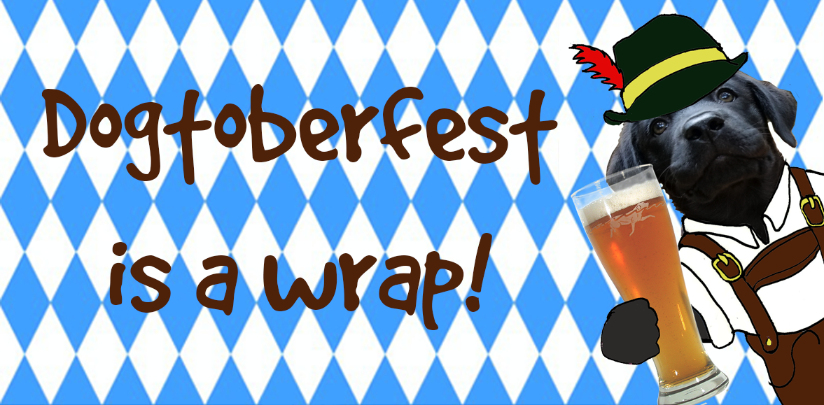 Our Dogtoberfest Giveaway is a Wrap