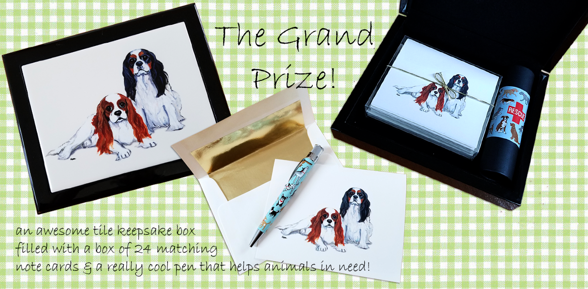 April Giveaway Grand Prize