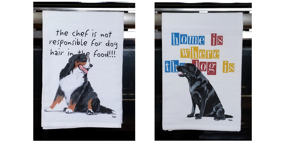 New Fur Children Tea Towels